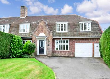 Thumbnail 4 bed semi-detached house for sale in Meadow Way, Tadworth, Surrey