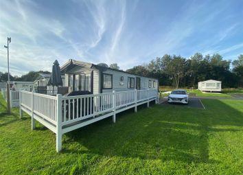 Thumbnail 3 bed mobile/park home for sale in Hedley Woods, Bridgerule, Holsworthy