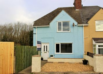 Thumbnail 3 bed semi-detached house for sale in Trebeferad, Boverton, Llantwit Major