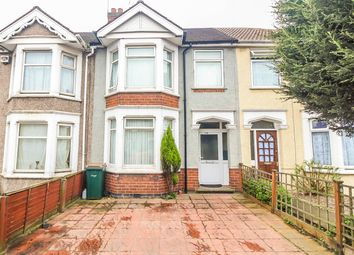 Thumbnail 3 bed terraced house for sale in Burnaby Road, Coventry