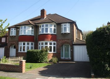 Thumbnail 3 bed semi-detached house for sale in The Hollands, Worcester Park