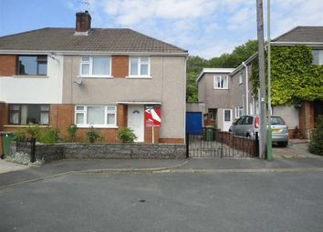 Thumbnail 3 bedroom semi-detached house to rent in Heol-Y-Graig, Ystrad Mynach, Hengoed