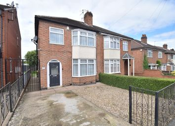 Thumbnail 3 bed semi-detached house for sale in Wigley Road, Netherhall, Leicester