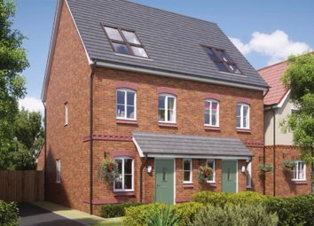 Thumbnail 3 bed semi-detached house for sale in Off Reginald Road, St Helens