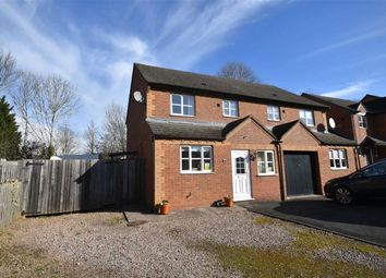 Thumbnail 3 bed semi-detached house for sale in Sunshine Close, Ledbury, Herefordshire
