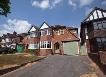 Thumbnail 4 bedroom semi-detached house for sale in Rectory Road, Solihull