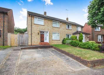Thumbnail 3 bed semi-detached house for sale in Longfield Road, Horsham, West Sussex