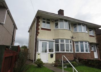 Thumbnail 3 bedroom semi-detached house for sale in Moor Lane, St Budeaux, Plymouth