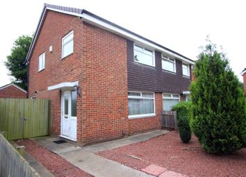 Thumbnail 3 bed semi-detached house for sale in Moffat Close, Darlington