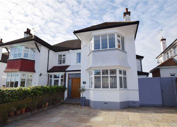 Thumbnail 5 bed semi-detached house for sale in Cottesmore Gardens, Leigh-On-Sea, Essex