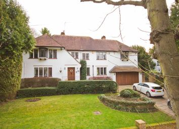 Thumbnail 6 bed detached house to rent in Sandy Lodge Road, Rickmansworth