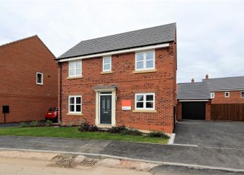 Thumbnail Detached house for sale in Woodcock Way, Ashby-De-La-Zouch