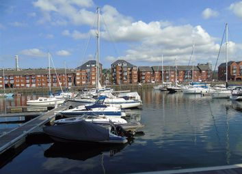 Thumbnail 4 bed flat for sale in Penryce Court, Victoria Quay, Swansea