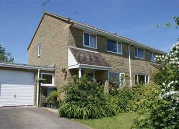 Thumbnail 3 bed semi-detached house for sale in North Crescent, Milborne Port, Sherborne