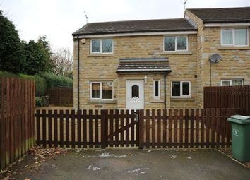 Thumbnail 3 bed terraced house to rent in Hall Garth, Huddersfield