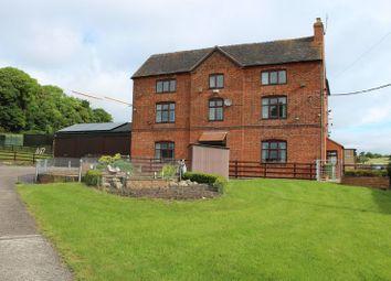 Thumbnail 7 bed farmhouse for sale in Bishton Farm, Bishton Lane, Wolseley Bridge, Stafford