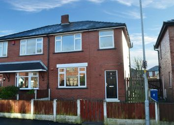 Thumbnail 3 bedroom semi-detached house for sale in Crawford Avenue, Aspull, Wigan
