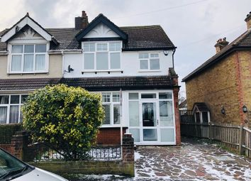 Thumbnail 3 bed semi-detached house to rent in Salisbury Road, Banstead