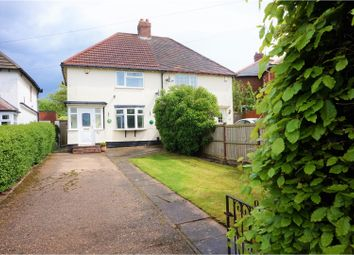 Thumbnail 2 bed semi-detached house for sale in Walsall Wood Road, Walsall