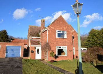 Thumbnail 3 bed detached house for sale in Lancaster Green, Hemswell Cliff, Gainsborough
