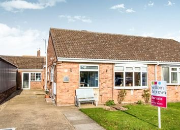Thumbnail 2 bed semi-detached bungalow for sale in Dawson Drive, Burgh Le Marsh, Skegness