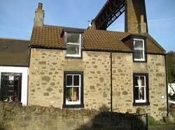 Thumbnail 2 bed end terrace house to rent in Helen Place, North Queensferry, Inverkeithing