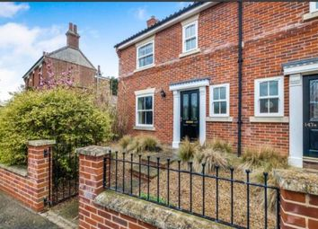 Thumbnail 3 bed semi-detached house for sale in Broome, Bungay, Norfolk