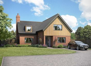 Thumbnail 4 bed detached house for sale in Main Road, Woodbridge, Lower Hacheston