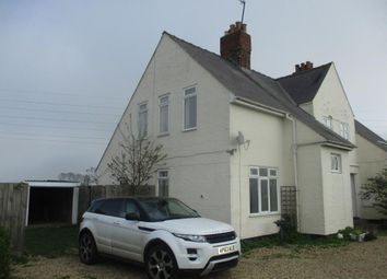 Thumbnail 3 bed semi-detached house to rent in Marsh Road, Holbeach Hurn, Holbeach, Spalding