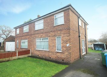 Thumbnail 3 bed semi-detached house for sale in Russell Road, Manchester, Greater Manchester