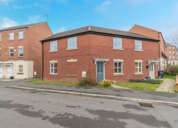Thumbnail 3 bed semi-detached house for sale in Brompton Road, Leicester