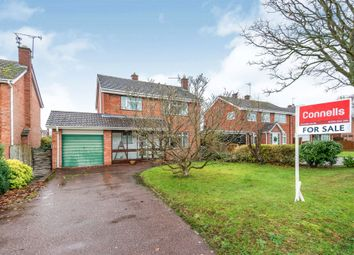 Thumbnail 3 bed detached house for sale in Glebe Lane, Gnosall, Stafford