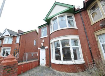 Thumbnail 4 bedroom semi-detached house for sale in Leicester Road, Blackpool, Lancashire