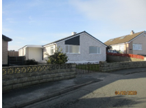Thumbnail 3 bed bungalow for sale in Cae Braenar, Holyhead