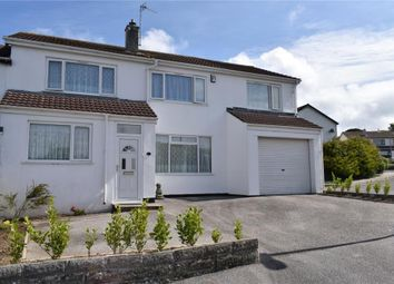 Thumbnail 5 bed semi-detached house for sale in Harefield Crescent, Camborne, Cornwall
