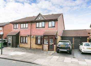 Thumbnail 3 bed semi-detached house for sale in Chapel Farm Road, Mottingham, London