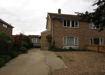 Thumbnail 4 bedroom semi-detached house for sale in High Street, Aldreth, Ely