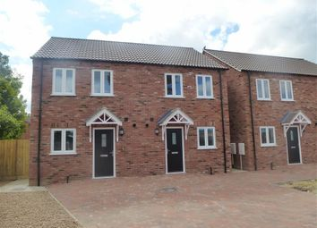 Thumbnail 2 bedroom semi-detached house to rent in Happy Close, Leverington, Wisbech