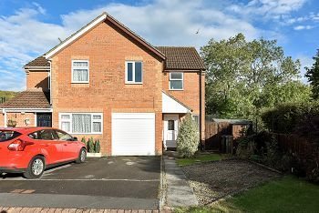 Thumbnail 3 bed semi-detached house to rent in Rectory Close, Warminster