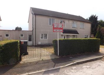 Thumbnail 3 bedroom semi-detached house for sale in Ruskin Avenue, Stratton, Swindon, Wiltshire