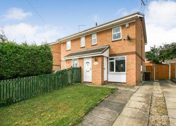 Thumbnail 2 bed semi-detached house for sale in Kestrel Drive Eckington, Sheffield