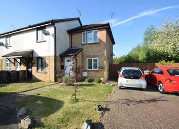 Thumbnail 1 bedroom end terrace house for sale in Elveden Close, Luton