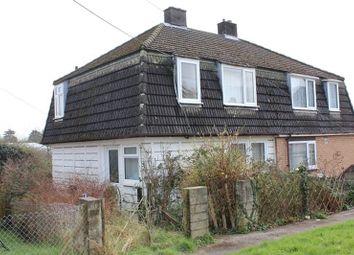 Thumbnail 3 bed semi-detached house for sale in Polgrean Place, St. Blazey, Par