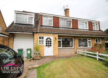 Thumbnail 4 bedroom semi-detached house for sale in Priory Walk, Leicester Forest East
