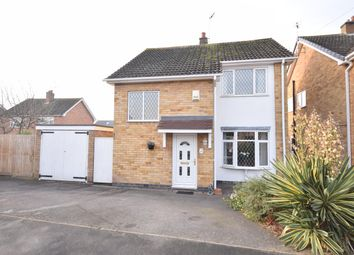 Thumbnail 3 bed detached house for sale in Willow Close, Littlethorpe, Leicester