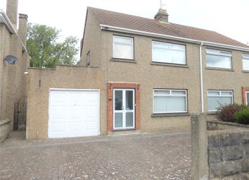 Thumbnail 3 bed semi-detached house for sale in Churchward Avenue, Swindon, Wiltshire