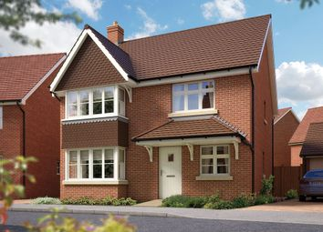 "Thumbnail 4 bed detached house for sale in ""The Canterbury"" at Archer's Way, Amesbury, Salisbury"