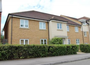 Thumbnail 2 bed flat to rent in North Lodge Drive, Papworth Everard, Cambridge