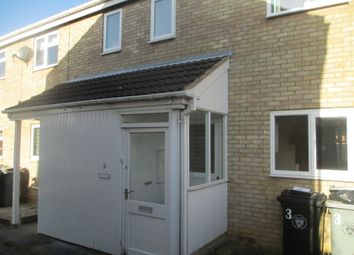 Thumbnail 2 bed end terrace house to rent in Anson Court, Market Deeping, Peterborough