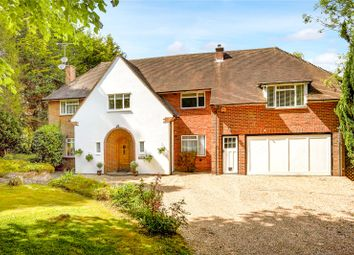 Thumbnail 4 bed detached house for sale in Garden Close, Leatherhead, Surrey